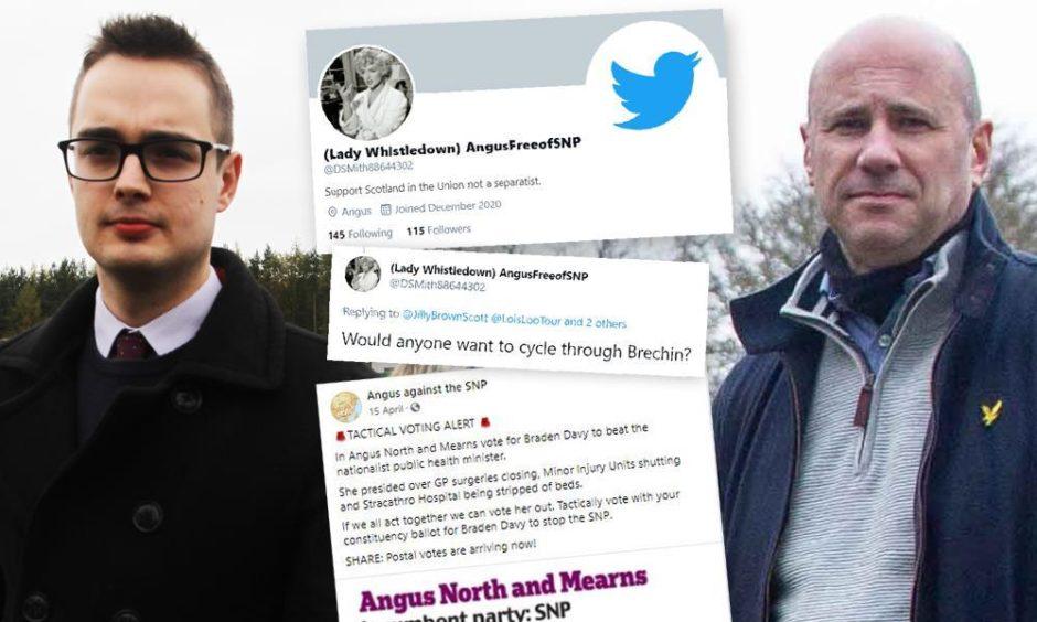 Braden Davy and Derek Wann have been unmasked as online trolls