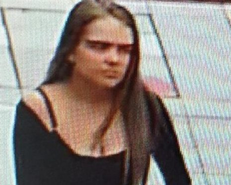 Mia Hassell, Missing Perthshire teenager