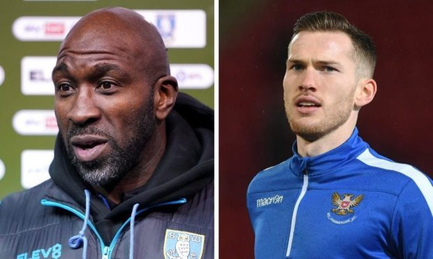 Sheffield Wednesday boss Darren Moore (left) has gone public with his admiration of St Johnstone star Jamie McCart.