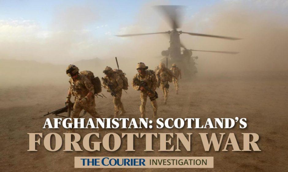Afghanistan Scotland Soldiers