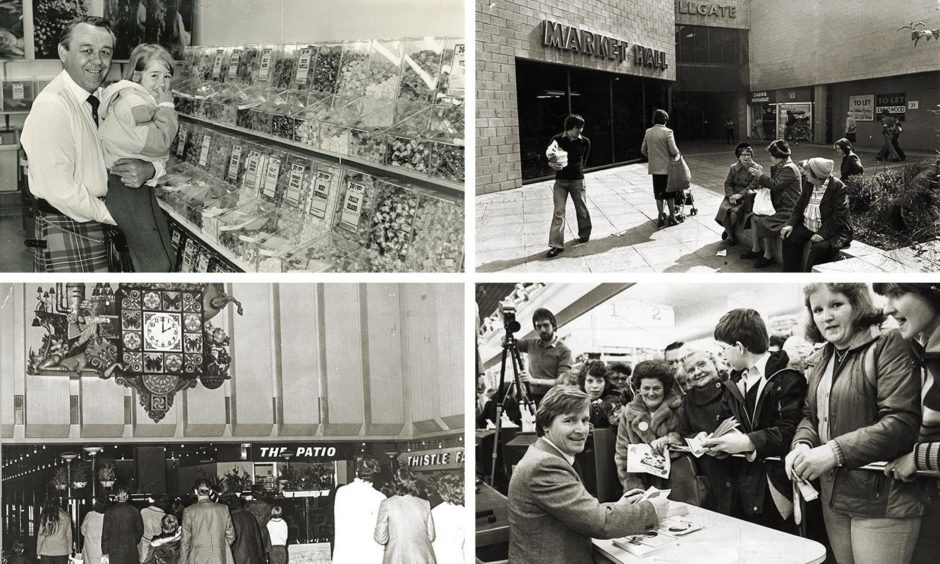 A look back at the golden years of the Wellgate Centre.