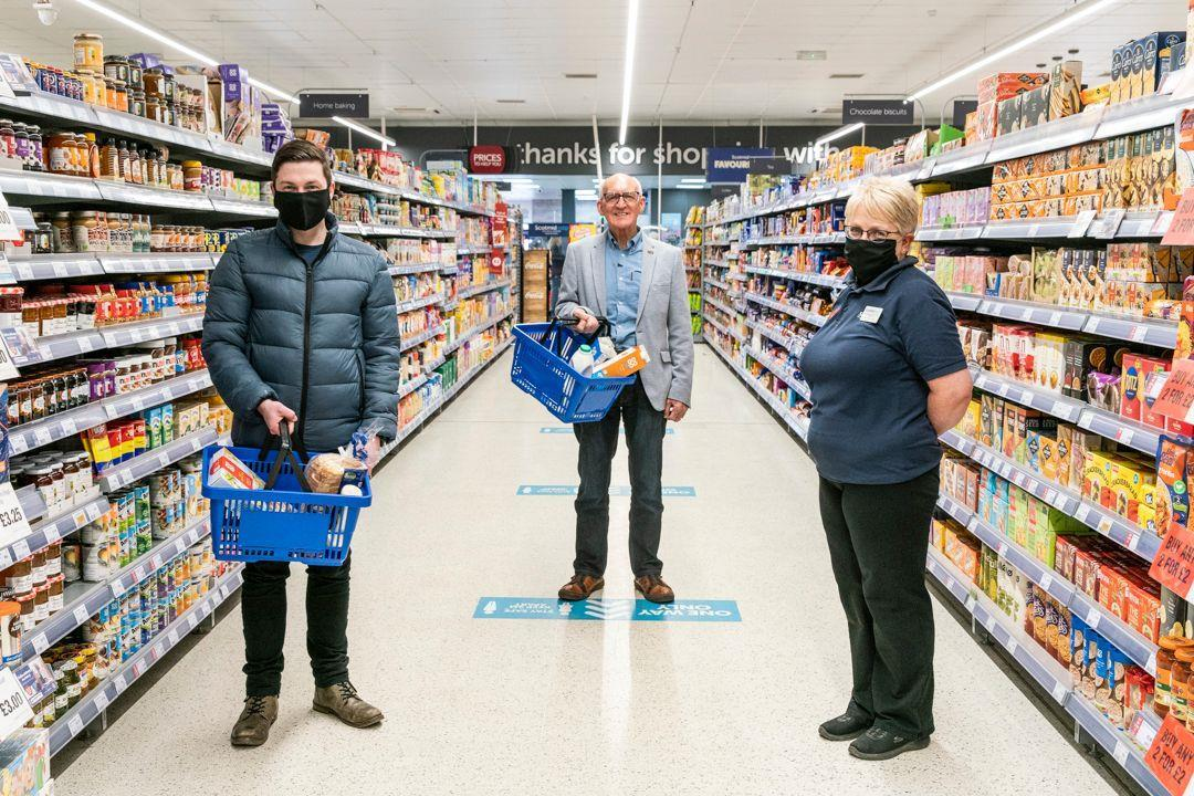 Scotmid stores in Tayside and Fife urge customers to choose local.