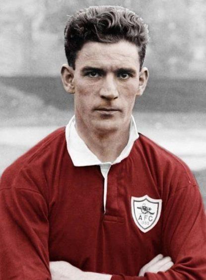 David Halliday during his playing days.