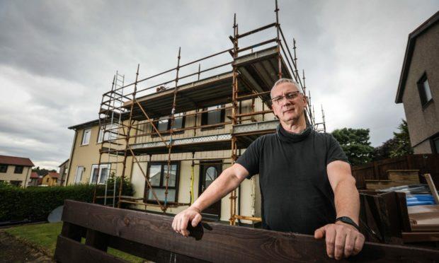 colin douglas scaffolding anywall contractor delays