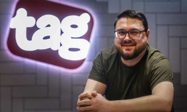 Marc WIlliamson, chief executive of Tag Games.