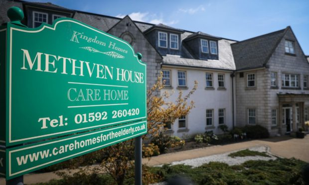 The incident took place at Methven House in Fife
