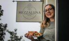 Chiara Di Ponio-Horne with some of Mezzaluna's famous cannoli.