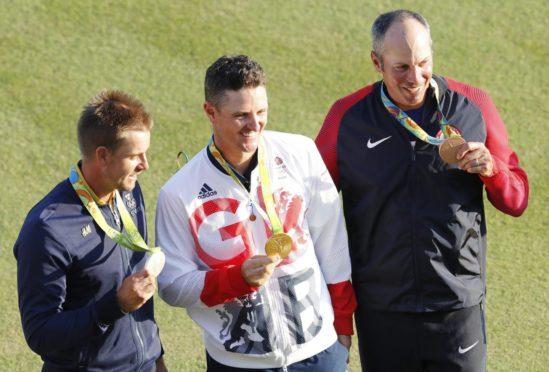 Henrik Stenson (silver), Justin Rose (gold) and Matt Kuchar (bronze) were the medallists at Rio in 2016.