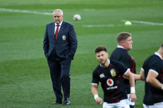 Warren Gatland was right again in the first test in Cape Town.