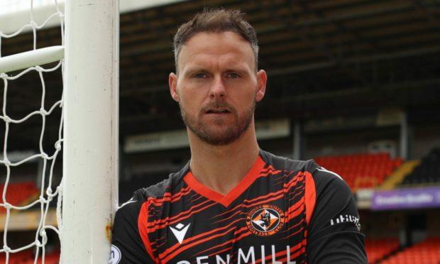 Dundee United goalkeeper Trevor Carson