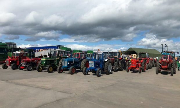 The tractor run takes place on Sunday July 18.