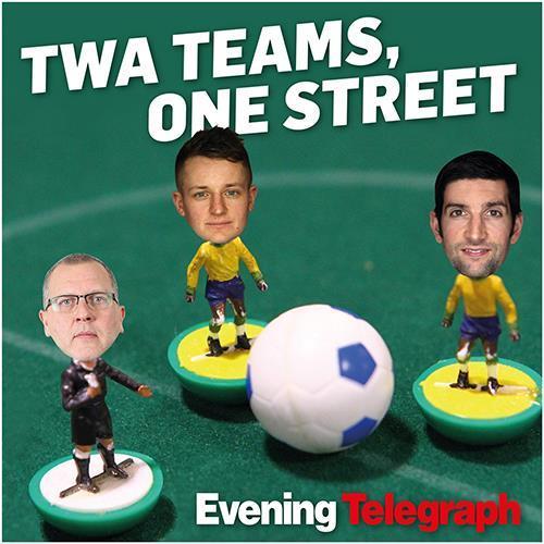 Twa Teams, One Street