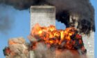 September 11, 2001: Hijacked United Airlines Flight 175 from Boston crashes into the south tower of the World Trade Center