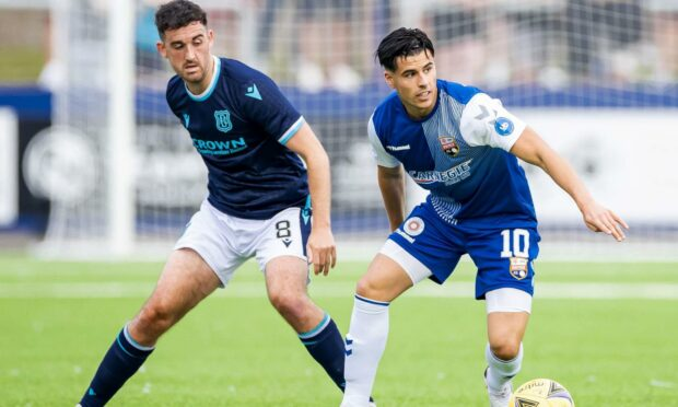 Lewis Milne is in top form at Montrose