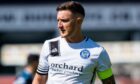 Forfar skipper Ross Meechan insists the pressure is off the Station Park side against Kelty Hearts