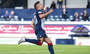Raith Rovers in Lewis Vaughan injury sweat ahead of Aberdeen tie as John McGlynn reveals Ross Matthews 'withstand the pain' message
