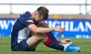 EXCLUSIVE: Raith Rovers blow as Brad Spencer is ruled out with fractured foot