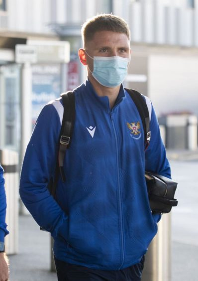 St Johnstone flew to Istanbul from Edinburgh Airport on Wednesday morning ahead of their clash with Galatasaray.