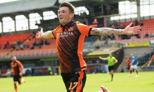 Dundee United star Jamie Robson netted the winner against champions Rangers earlier this month