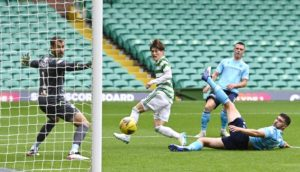 Celtic 6-0 Dundee: Dark Blues endure miserable day in rain-soaked Glasgow as Hoops run riot