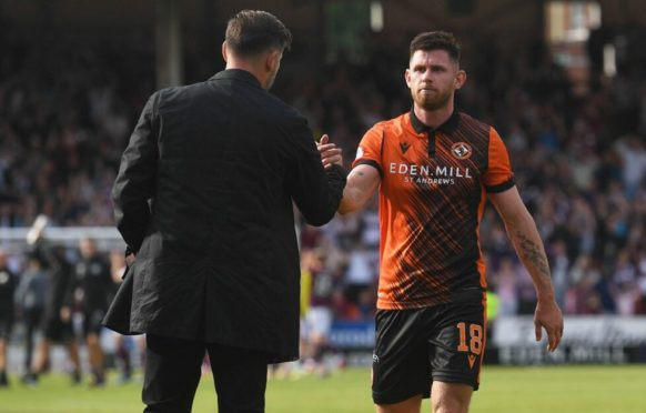 Calum Butcher has agreed a new deal with Dundee United