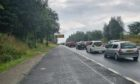 A9 crash near Dunkeld