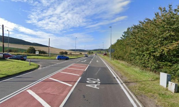The A92 roadworks will begin on Friday September 3.