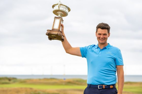 Scottish Amateur champion Angus Carrick.