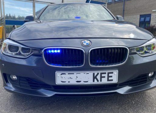 Big KFE police car