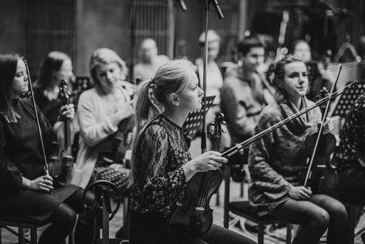 The Baltic Sea Philharmonic, who recorded Max Richter's new album Exiles.