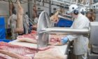 Almost half of all staff working in the red meat processing sector are from outside the UK.