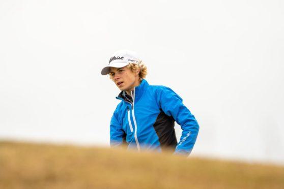 Connor Graham, just 14, had a brilliant Scottish Amateur.