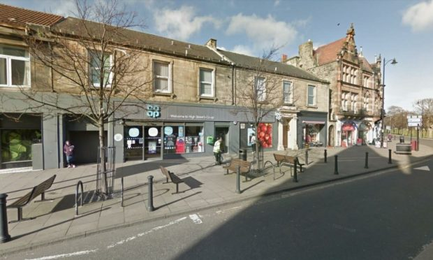 The Co-op store in Burntisland High Street