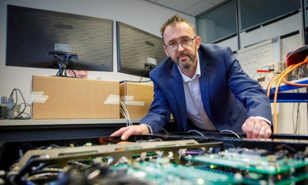 Managing director of MEP Technologies Stuart Morrison.