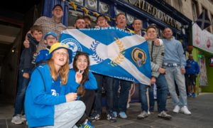 PICTURES: St Johnstone fans lap up fan zone atmosphere ahead of Galatasaray clash