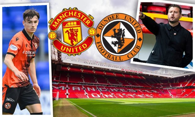 Tam Courts reckons Manchester United have shown faith in Dundee United's coaching approach by sending Dylan Levitt to Tannadice.