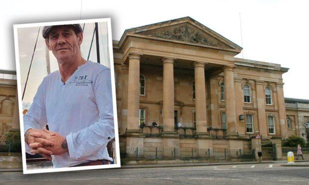 David Merrigan was sentenced at Dundee Sheriff Court