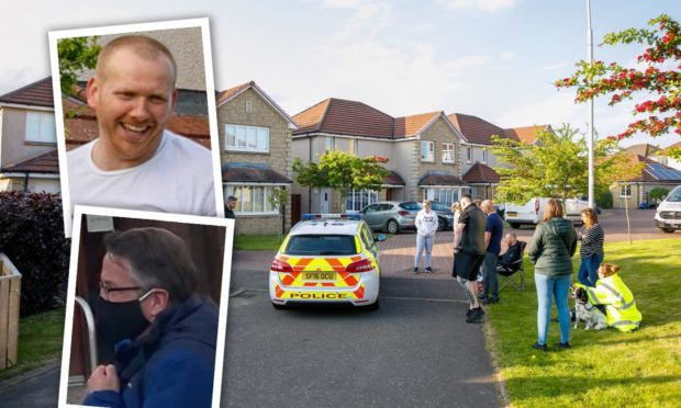 Colin Flockhart admitted to abusing Karen Denison while her husband, sex offender Nicholas Denison, has his curfew suspended after fleeing Scotland.
