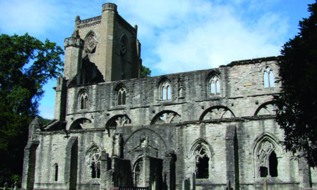 The march will finish at Dunkeld Cathedral.