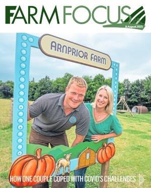 To go with story by Sarah Williamson. to go online on courier business and supplements page Picture shows; Cover image of Courier Farm Focus supplement for August. N/A. Supplied by DCT Media Date; Unknown