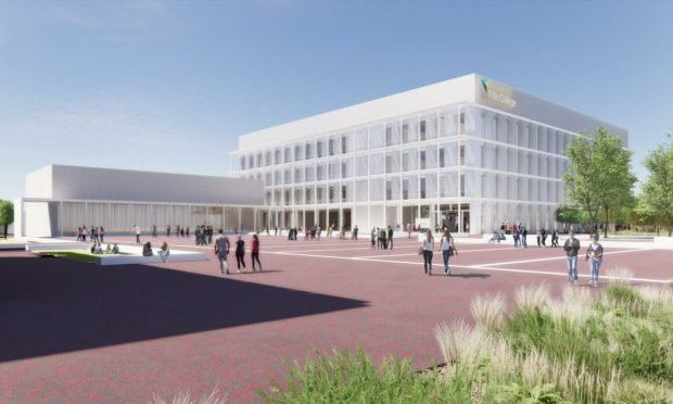 The new Fife College campus will be situated in the eastern expansion area of Dunfermline.