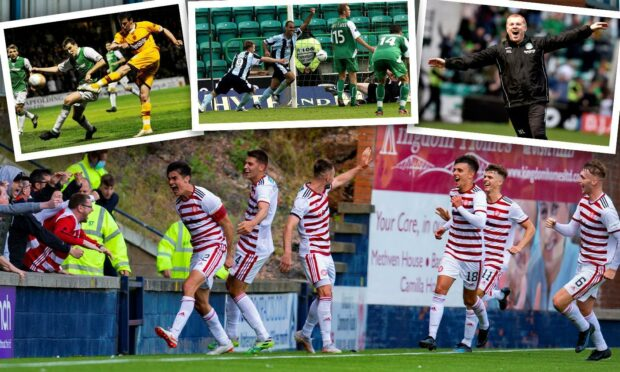 Some of Scottish football's great comebacks