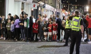 Manchester United in Dundee