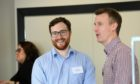 All smiles at the Dundee networking event.
