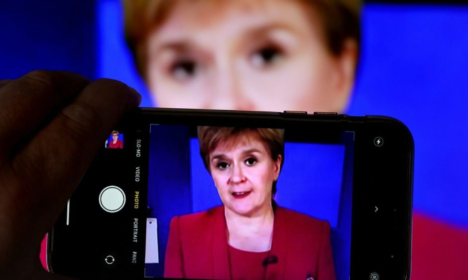 Nicola Sturgeon has to sell the SNP-Green deal back to her voters.