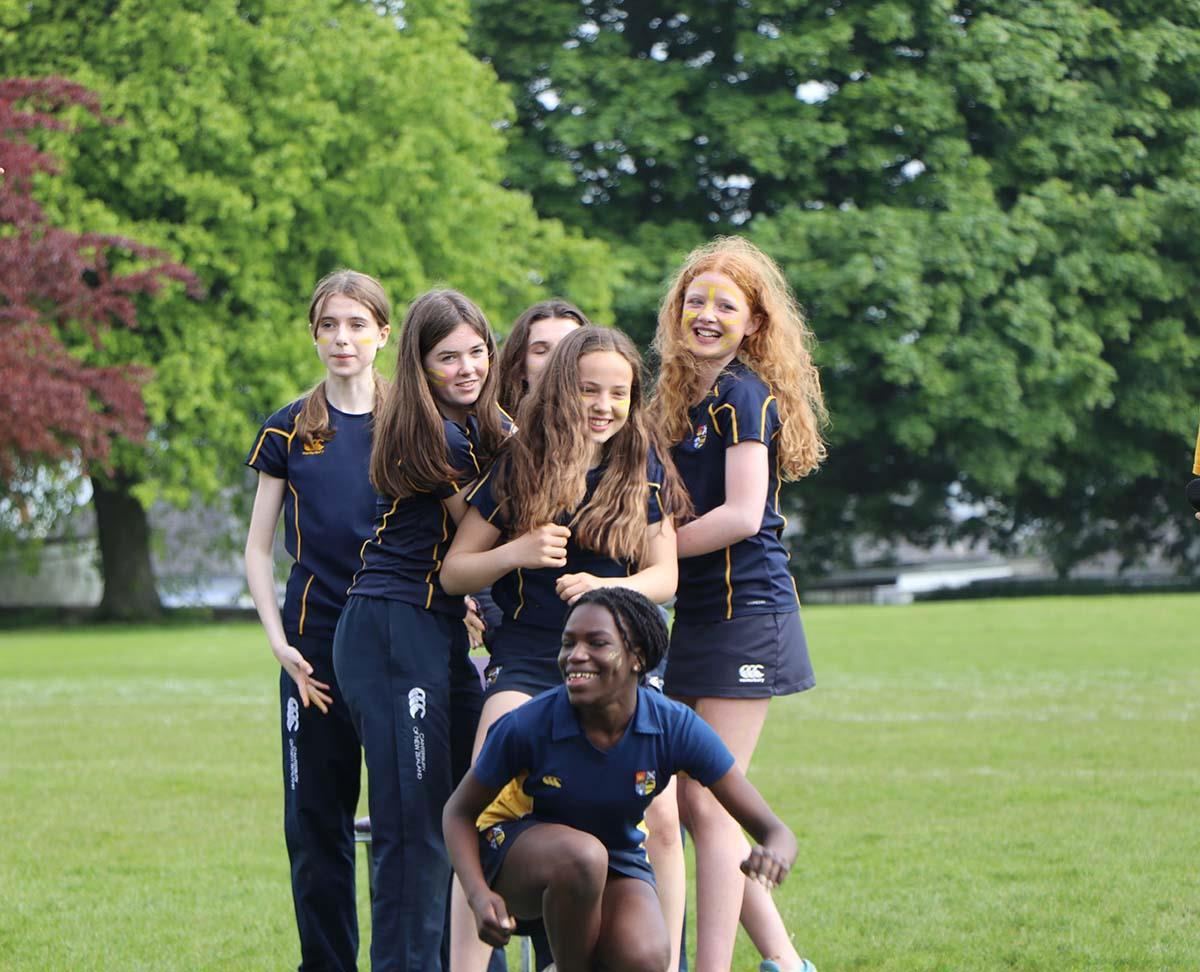 Outdoor activities are part of the High School of Dundee's curriculum.