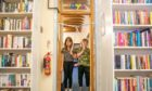 Ellie Simpson and Cameron Holmes opened the new toy area at The Learning Tree in Arbroath. Pic: Kim Cessford/DCT Media.