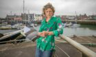 Poet Lesley Harrison has worked with musicians to create Whale Song, which premieres at Arbroath fish market on August 8.