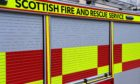 Three fire crews were despatched after reports of a fire in Dundee flats.