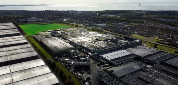Diageo plans 12,000 solar panels at its Fife packaging site.